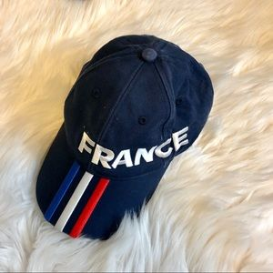 adidas Accessories - 4 FOR $20! France x Adidas Football Clasp Cap.
